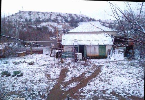 В Крыму выпал снег!