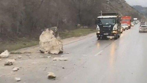 Камнепад в Крыму