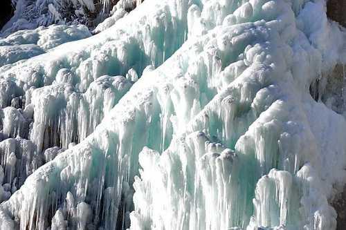 Зимний водопад Учан-Су.