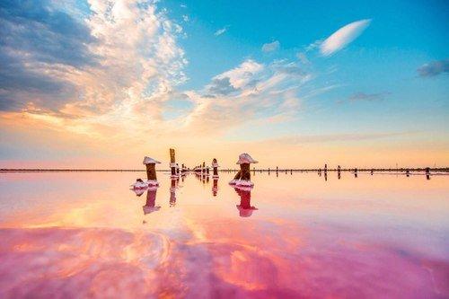 Розовое озеро-Сассык-Сиваш