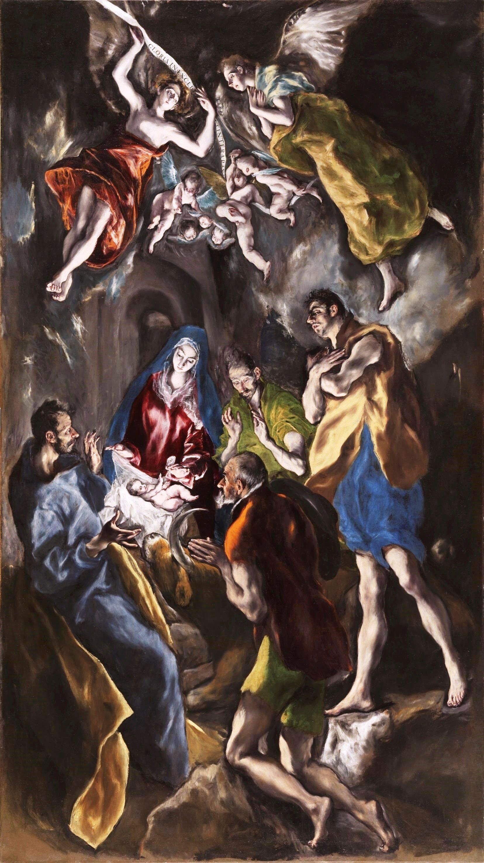 Эль Греко. «Рождество». Около 1612—1614
