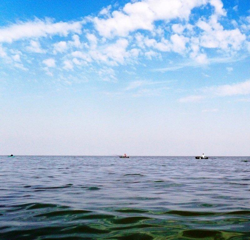 В походе яхтенном, начало, 23 августа, море Азовское 010
