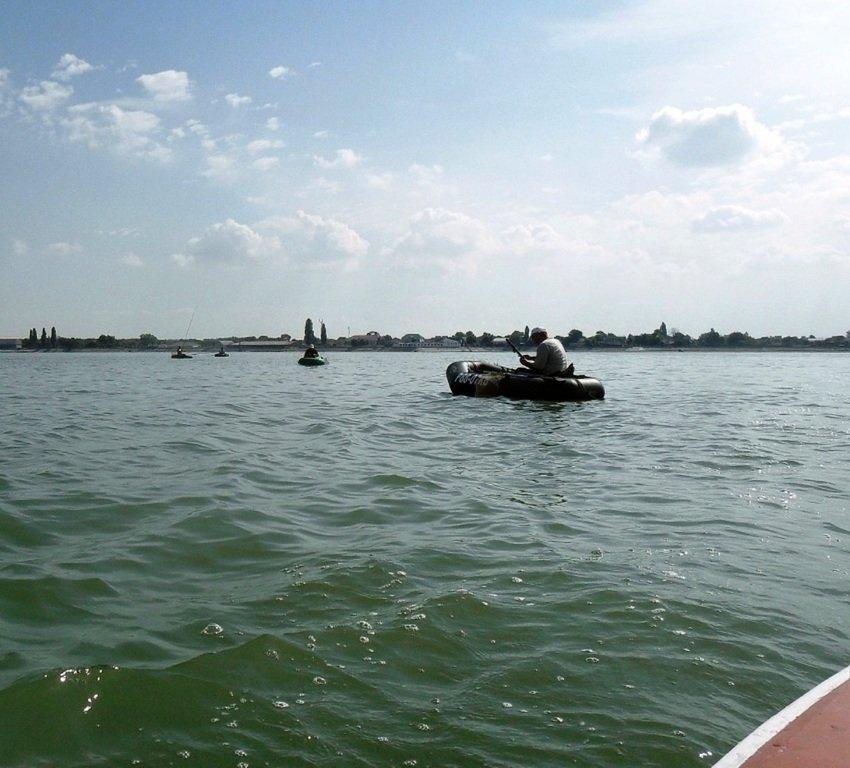 В походе яхтенном, начало, 23 августа, море Азовское 009