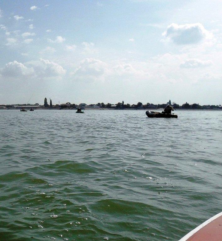 В походе яхтенном, начало, 23 августа, море Азовское 005