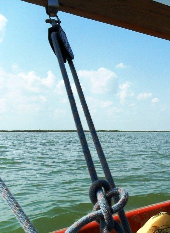 В море, на яхте, у Ачуевской косы, август...002. 008
