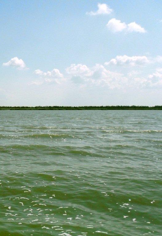 Азовское море, у берегов, Ачуевская коса, яхтенный поход... 006 ... 005