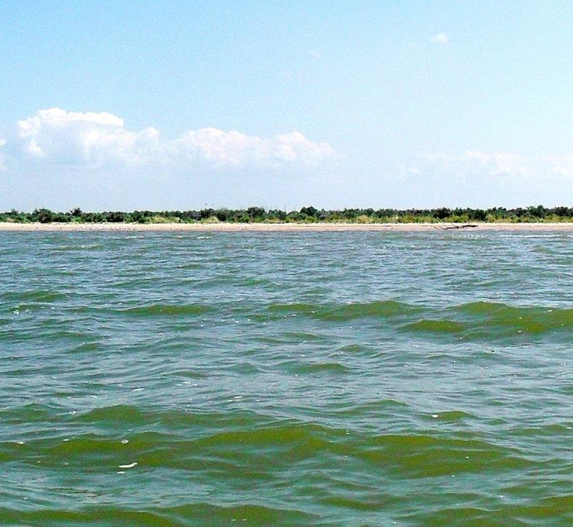 Азовское море, у берегов, Ачуевская коса, яхтенный поход... 006 ... 009