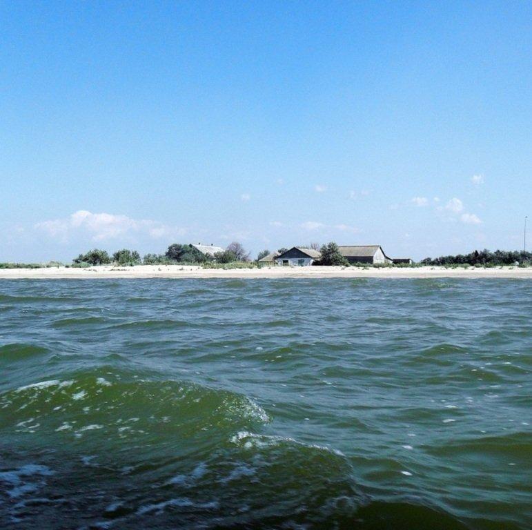 На яхте, в походе, туризм, август, море Азовское... 008. 012