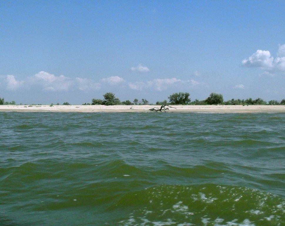 На яхте, в походе, туризм, август, море Азовское... 008. 011