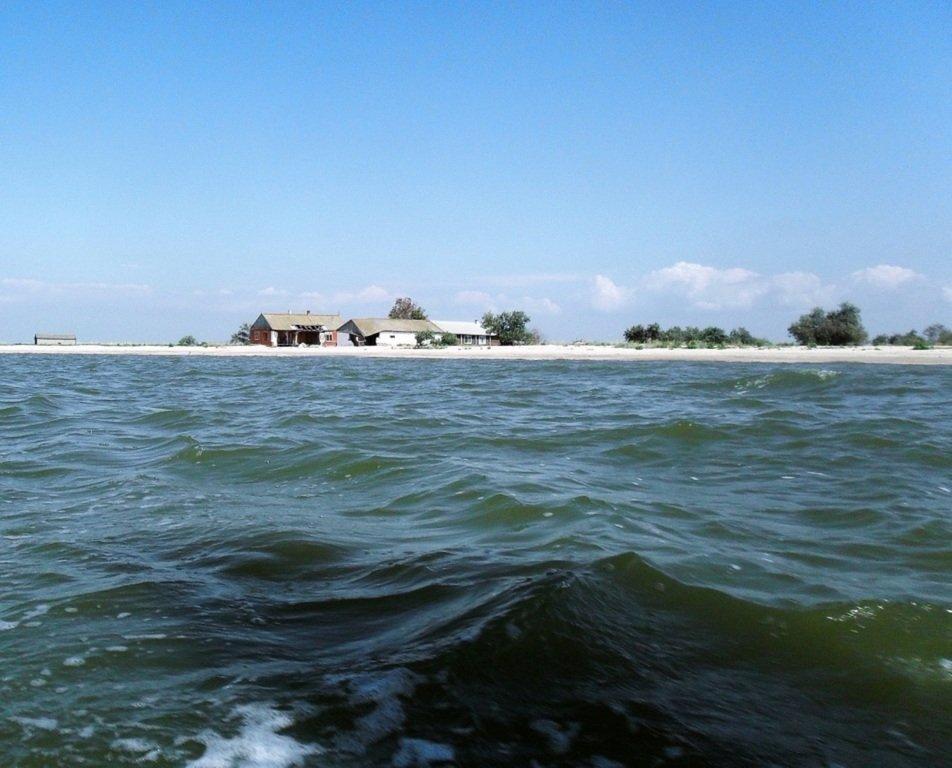 На яхте, в походе, туризм, август, море Азовское... 008. 008