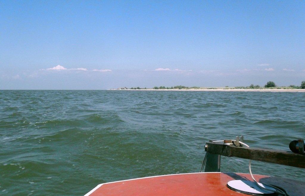 На яхте, в походе, туризм, август, море Азовское... 008. 006