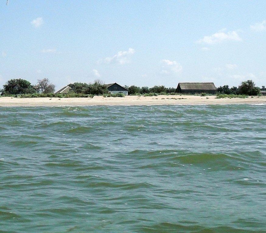На яхте, в походе, туризм, август, море Азовское... 008. 004