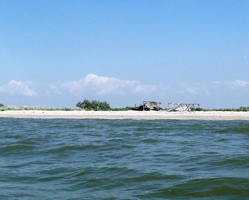 На яхте, в походе, туризм, август, море Азовское... 008. 003