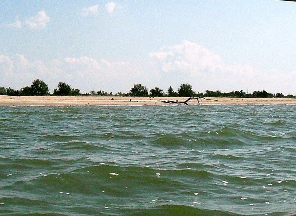 На яхте, в походе, туризм, август, море Азовское... 008. 002