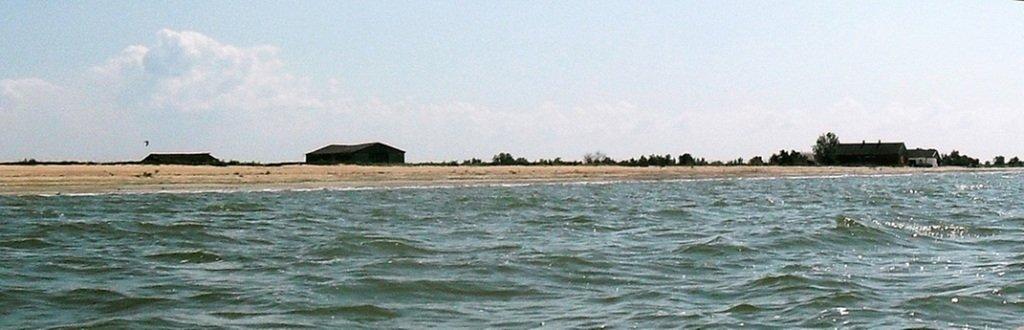 На яхте, в походе, туризм, август, море Азовское... 008. 001
