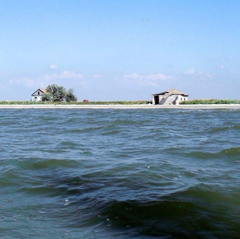 Яхтенное хождение, август, Азовское море, у Ачуевской косы... 009. 011