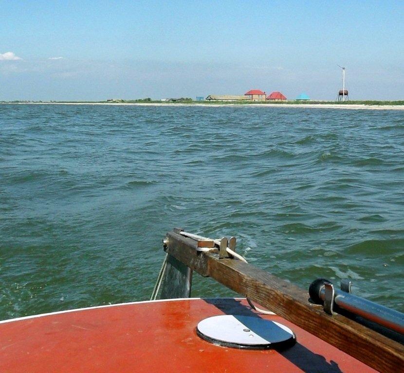 Яхтенное хождение, август, Азовское море, у Ачуевской косы... 009. 010