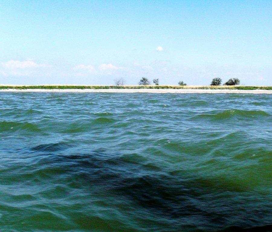Яхтенное хождение, август, Азовское море, у Ачуевской косы... 009. 009