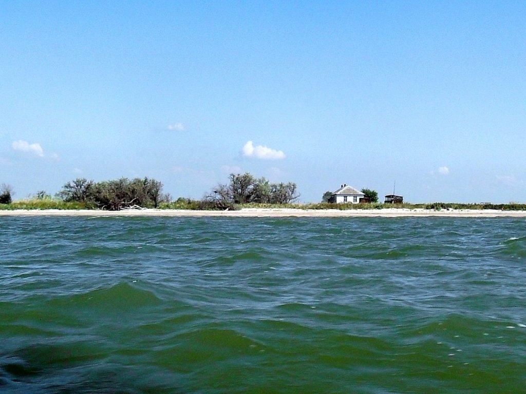 Яхтенное хождение, август, Азовское море, у Ачуевской косы... 009. 008