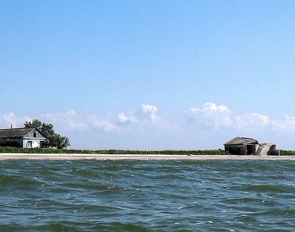 Яхтенное хождение, август, Азовское море, у Ачуевской косы... 009. 007