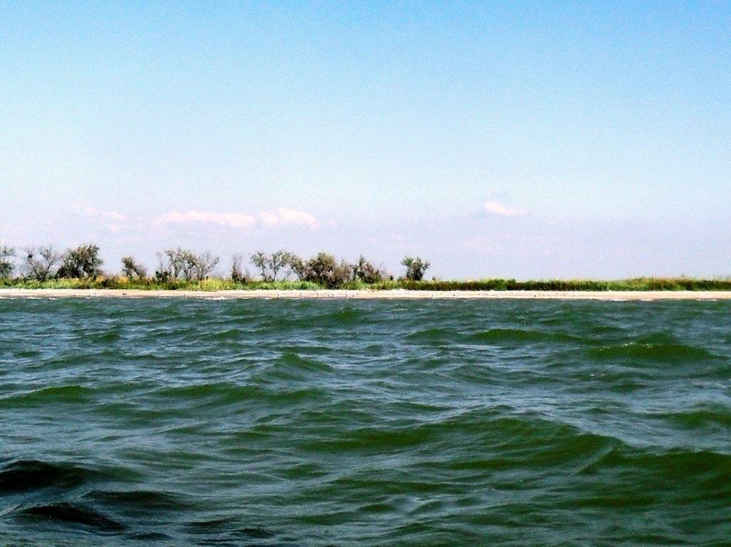 Яхтенное хождение, август, Азовское море, у Ачуевской косы... 009. 005
