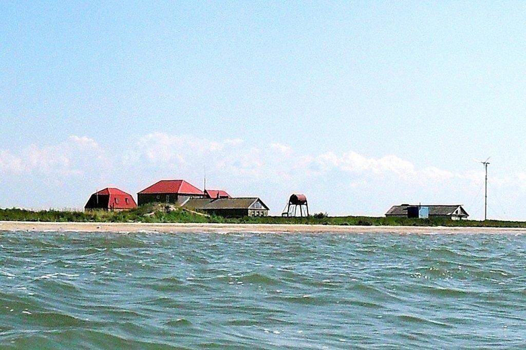 Яхтенное хождение, август, Азовское море, у Ачуевской косы... 009. 004
