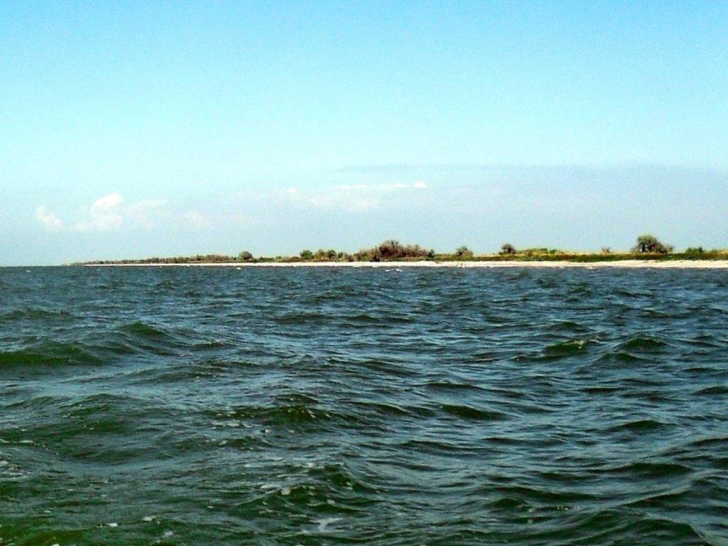 Яхтенное хождение, август, Азовское море, у Ачуевской косы... 009. 002