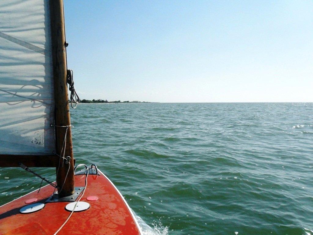 В походе яхтенном, с парусом, туризм, Ачуевская коса, август...010. 001