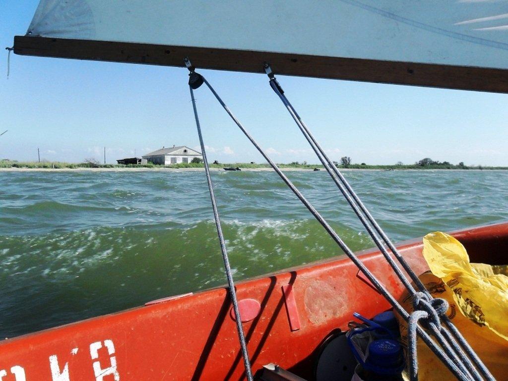В походе яхтенном, с парусом, туризм, Ачуевская коса, август...010. 002