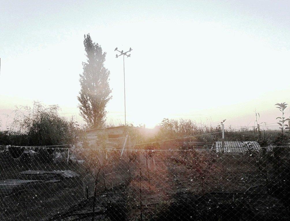 Утро, в походе яхтенном, Ачуевская коса, на водных дорогах... 015. 004