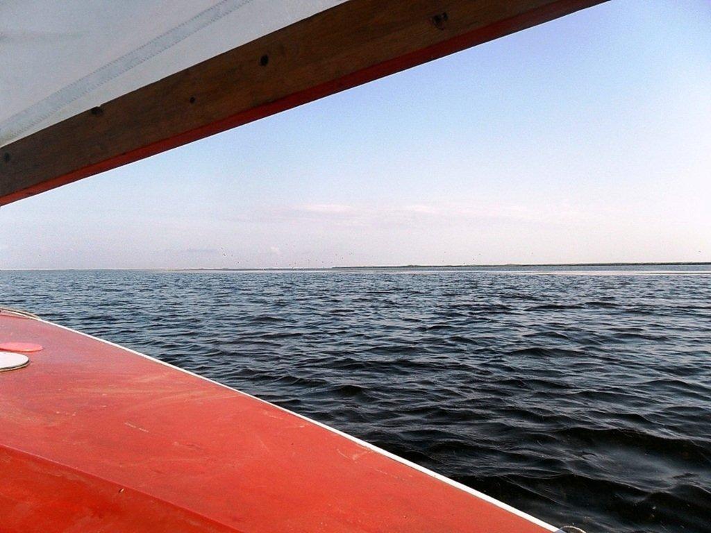 Утро, в походе яхтенном, Ачуевская коса, на водных дорогах... 015. 011