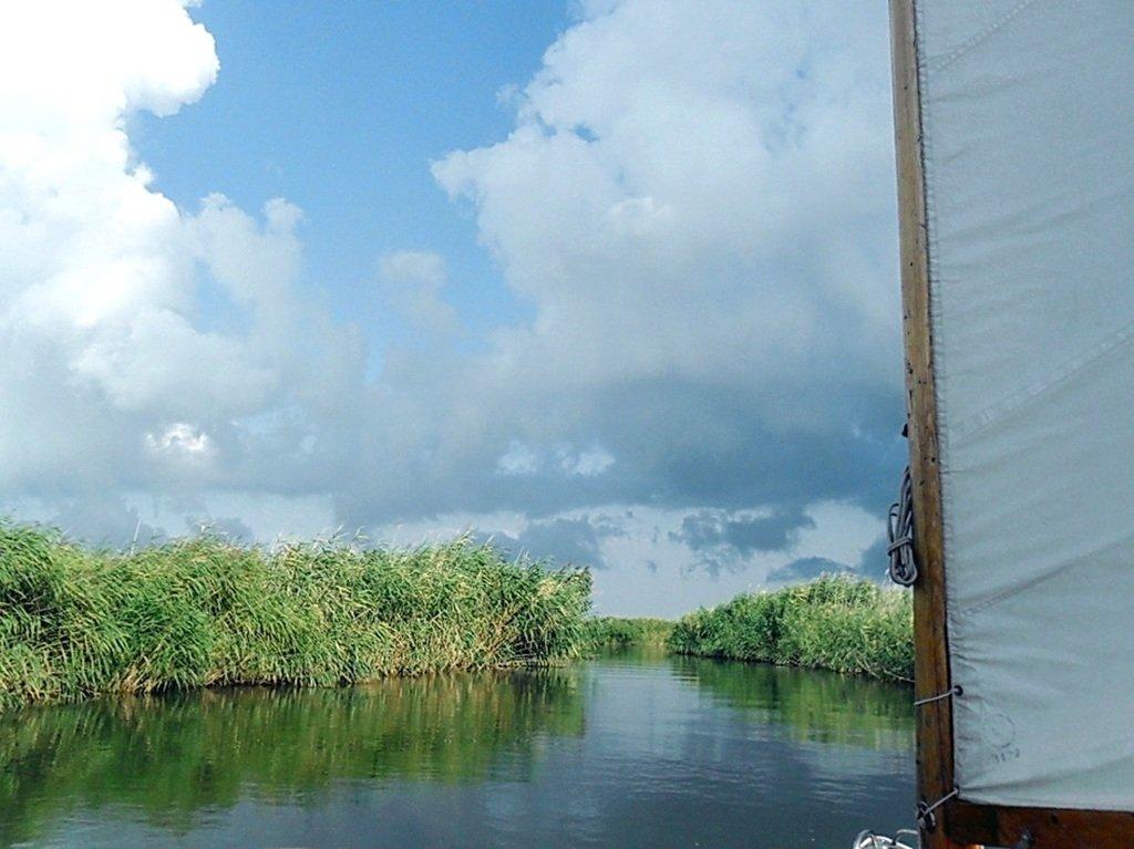 Прохождение гирла Авдиева, к морю Азовскому, на яхте... 017. 007