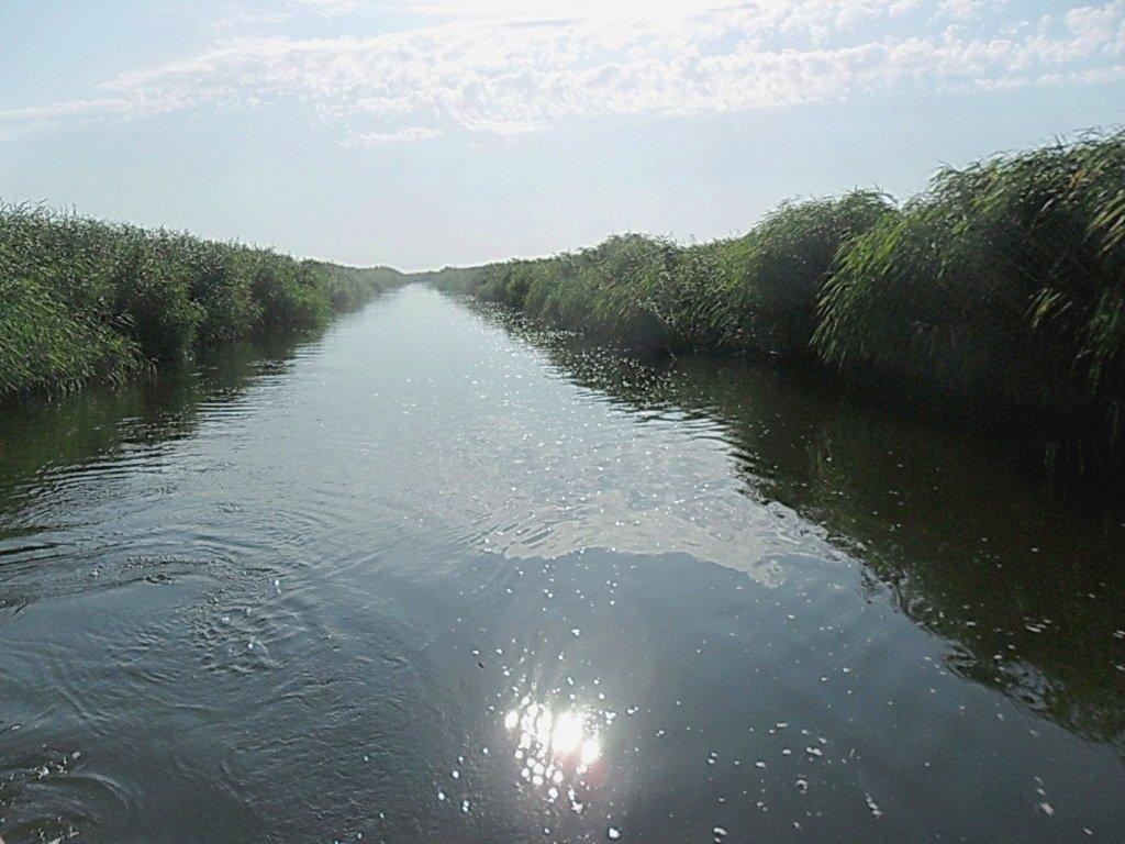 Прохождение гирла Авдиева, к морю Азовскому, на яхте... 017. 001