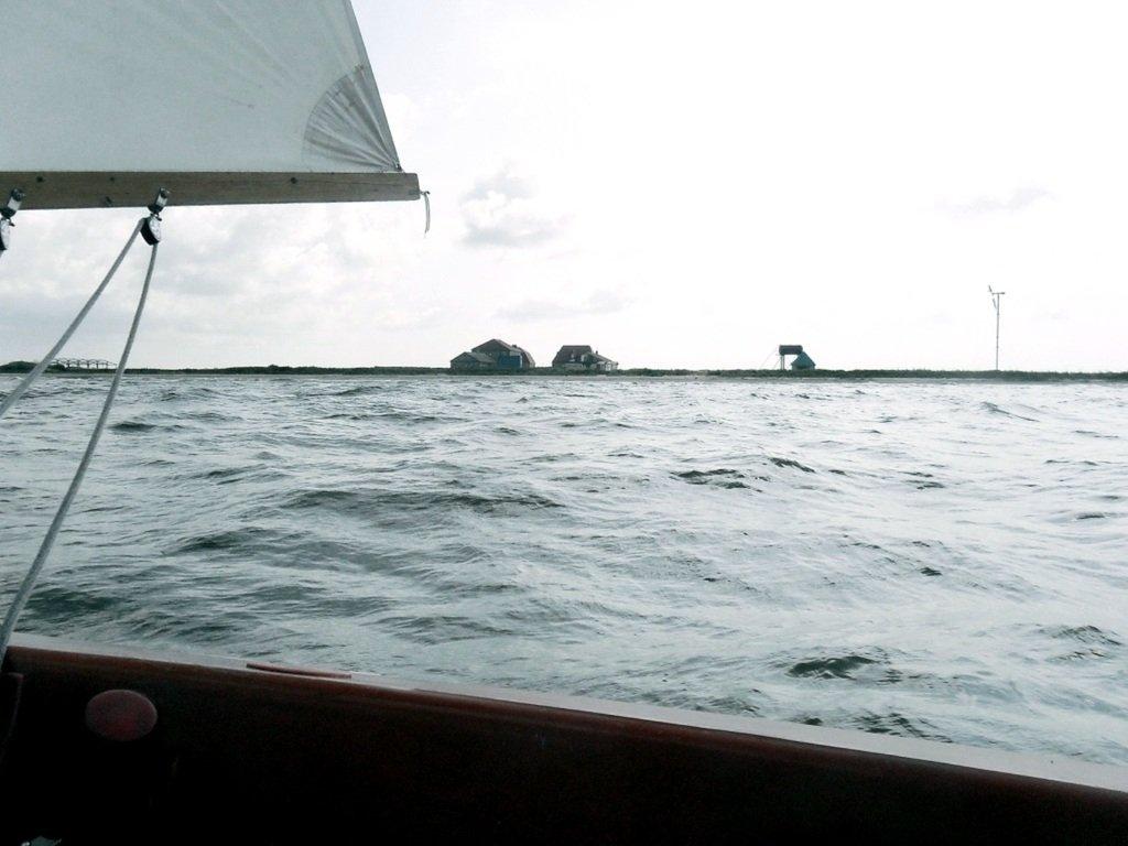 В море, при хорошем ветре, волнение, облачность... 018. 011