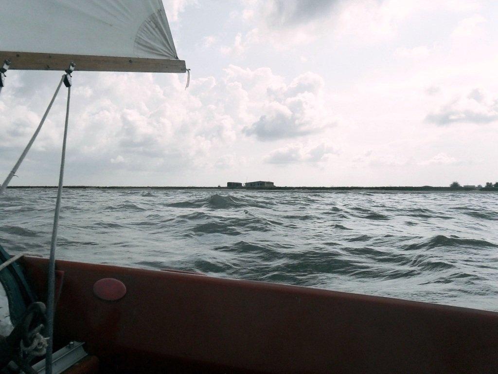 В море Азовском, на переходе, под парусом, свежий ветер... 019. 001