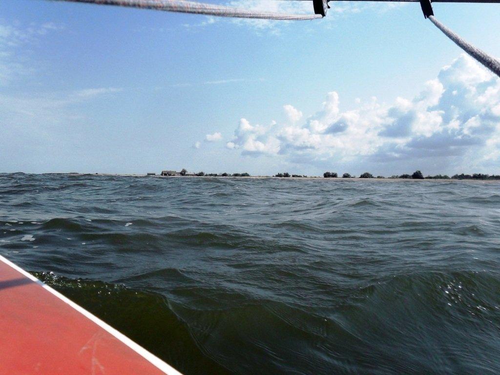 В море Азовском, на переходе, под парусом, свежий ветер... 019. 005