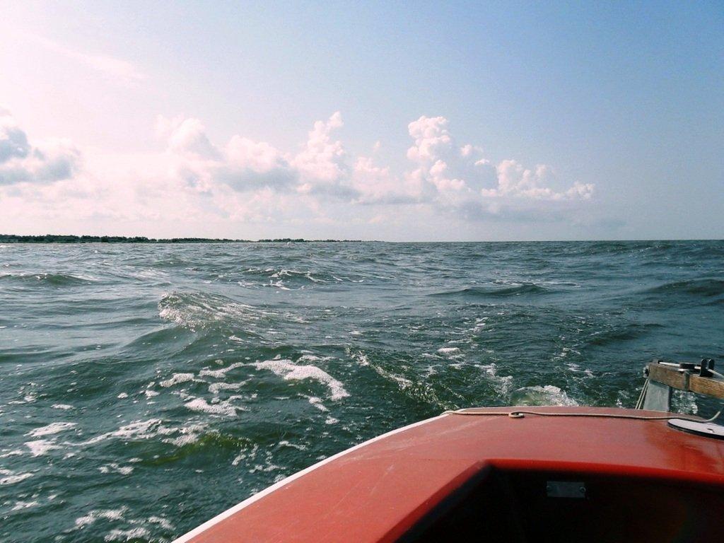 В море Азовском, на переходе, под парусом, свежий ветер... 019. 003
