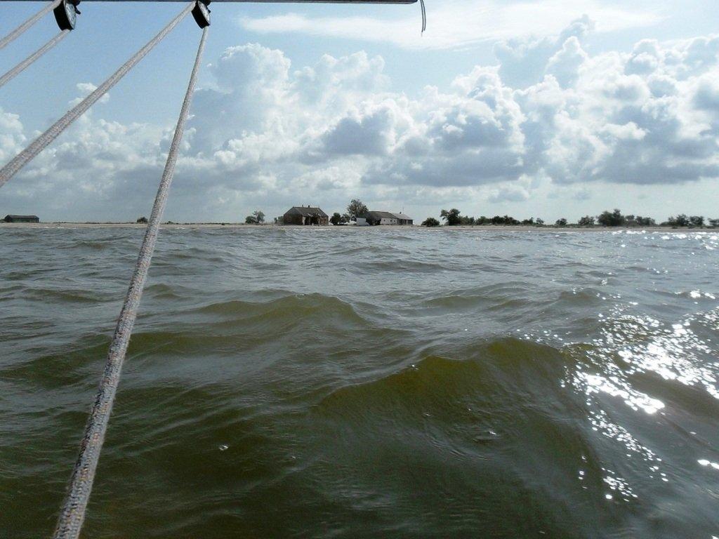 В море Азовском, на переходе, под парусом, свежий ветер... 019. 006