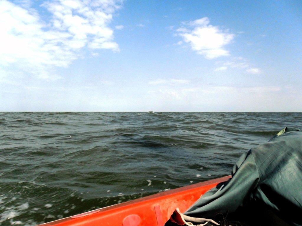 В море Азовском, на переходе, под парусом, свежий ветер... 019. 010