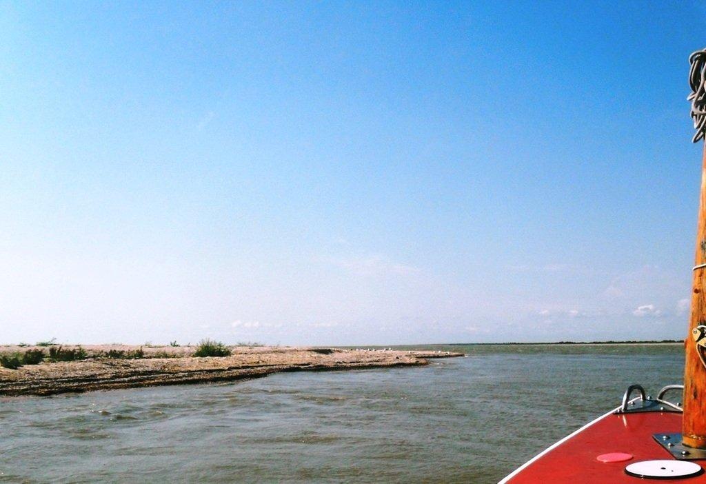 В проливе Бейсугском, высадка на берег, Ясенская коса, август ... 022. 003