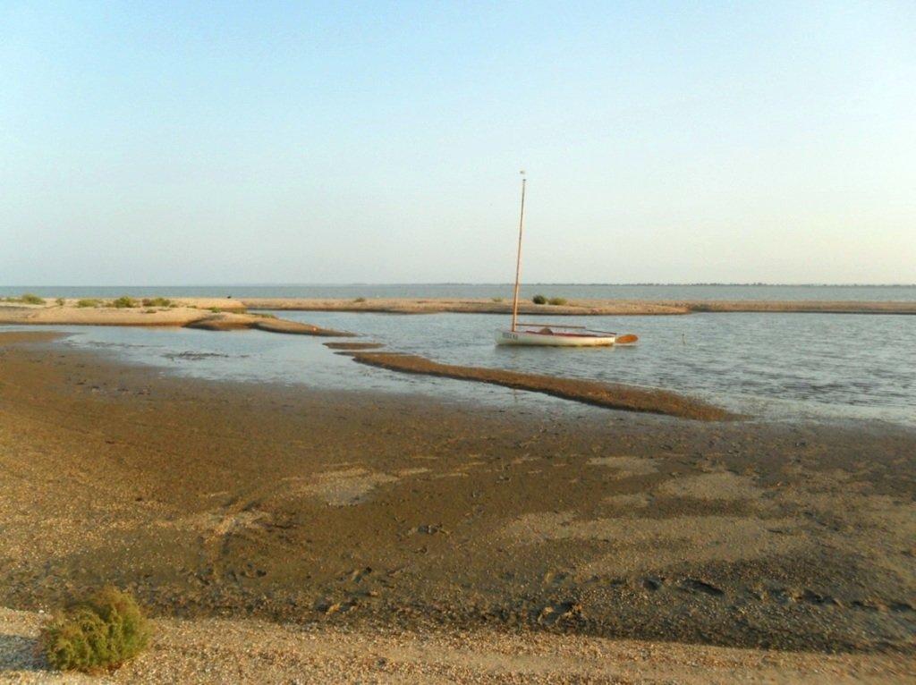 На Природе, Азовское побережье, август, в походе... 029. 007