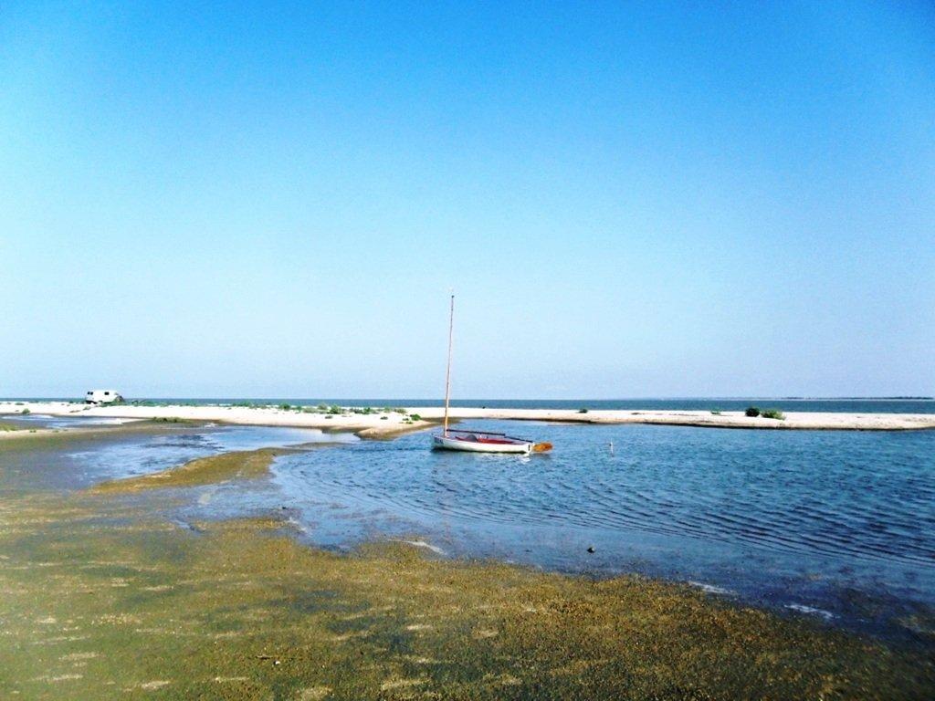 На Природе, Азовское побережье, август, в походе... 029. 012