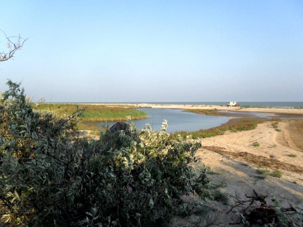 На Природе, Азовское побережье, август, в походе... 029. 008