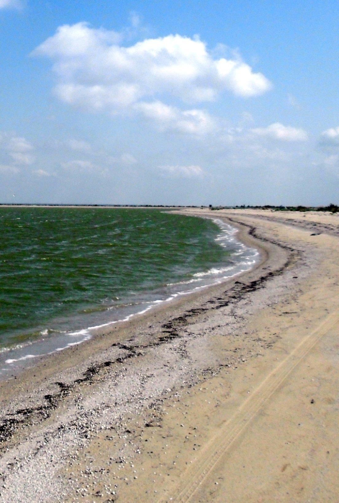 В походе, на Природе, у моря, в августе, у пролива... 031. 012