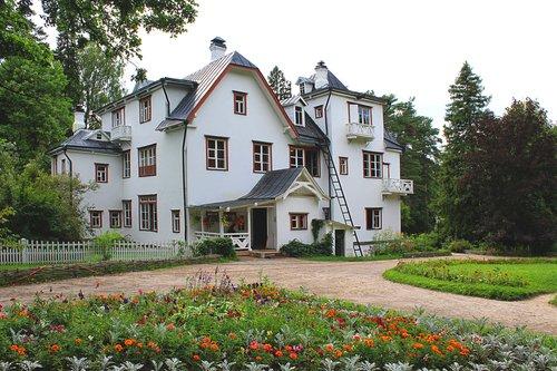 Поленово , Большой дом