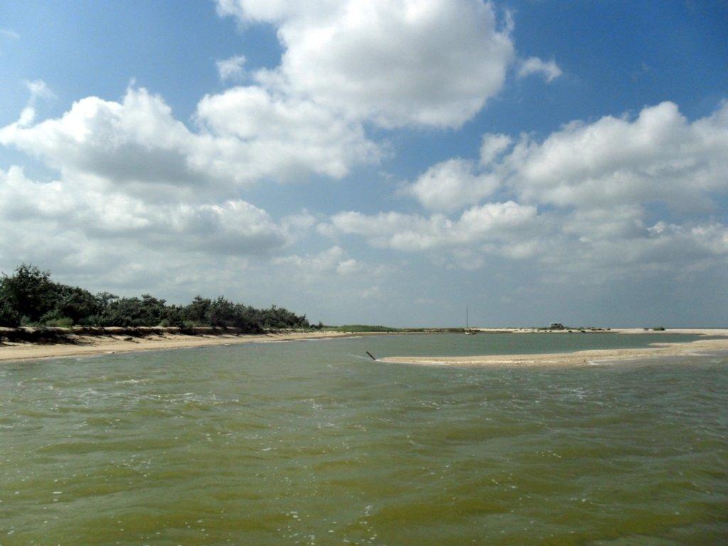 В ясный день, у моря Азовского, август, на Ясенской косе... 033. 009