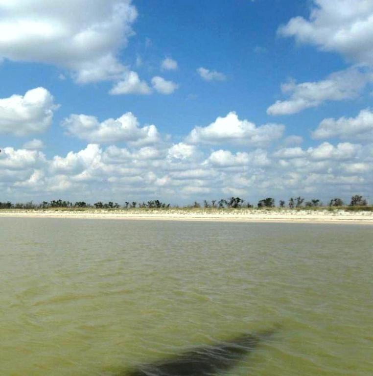 На морском просторе, солнечный день, у Азовских берегов, в августе... 035. 001