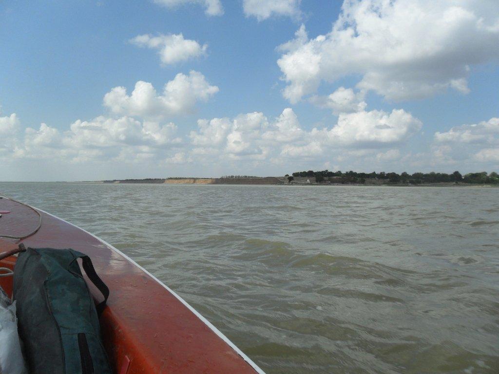 036. В походе, на яхте, у Шиловки, море Азовское... 002