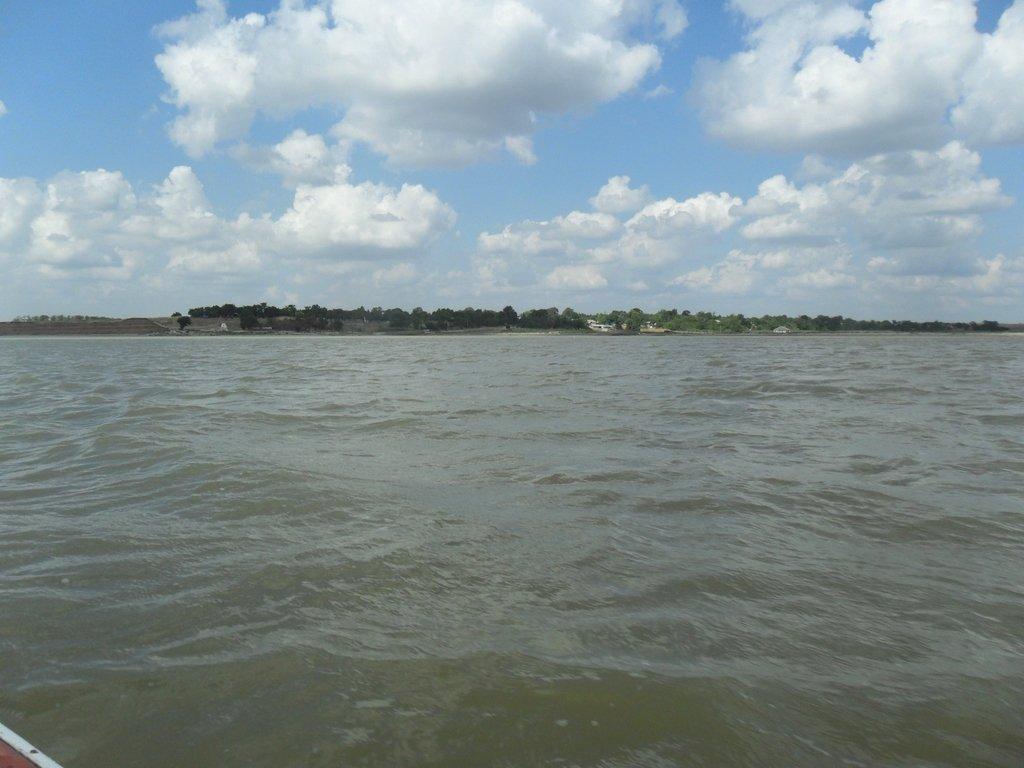 036. В походе, на яхте, у Шиловки, море Азовское... 001