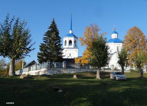Церковь Похвалы Богородице в п. Орел Пермского края.